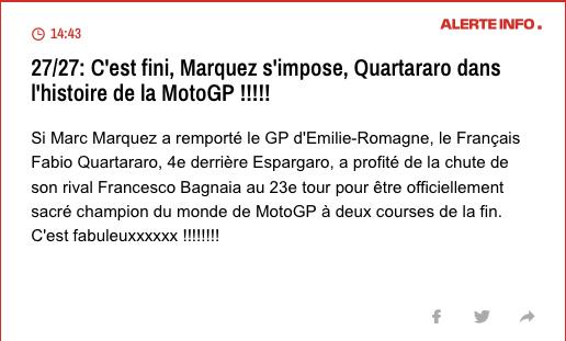 MOTO GP EMILIE ROMAGNE MISANO 2021 Cap19259