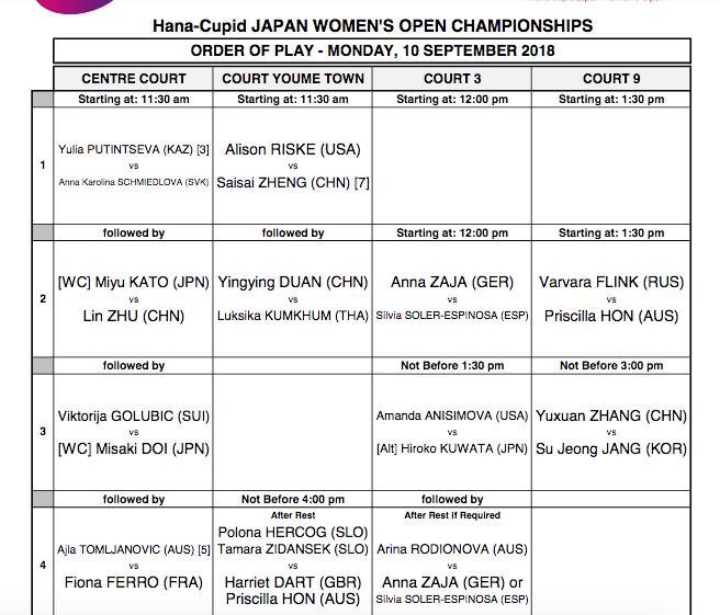 WTA HIROSHIMA 2018 Capt1443