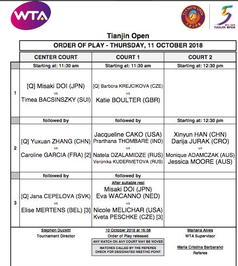 WTA TIANJIN 2018 - Page 2 Capt1925