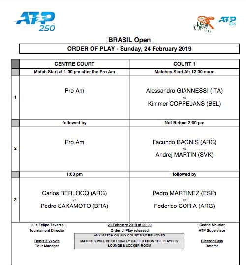 ATP SAO PAULO 2019 Capt3303