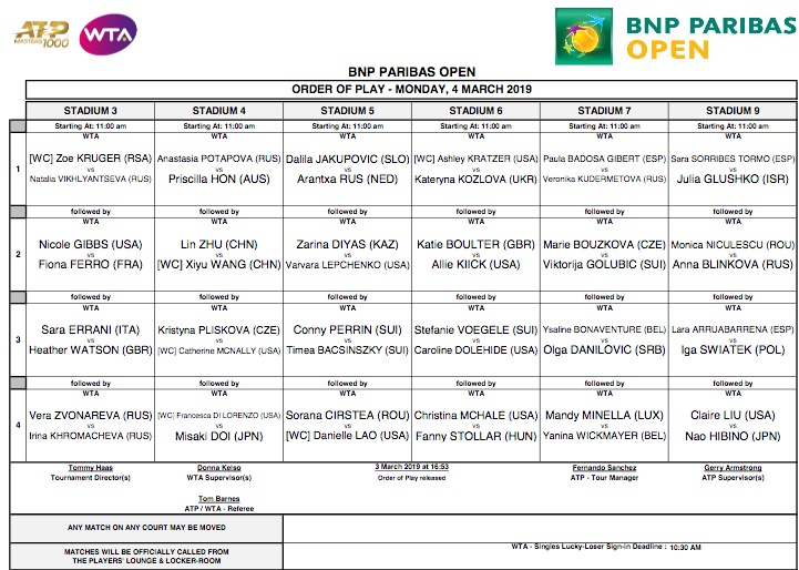 WTA INDIAN WELLS 2019 - Page 2 Capt3441