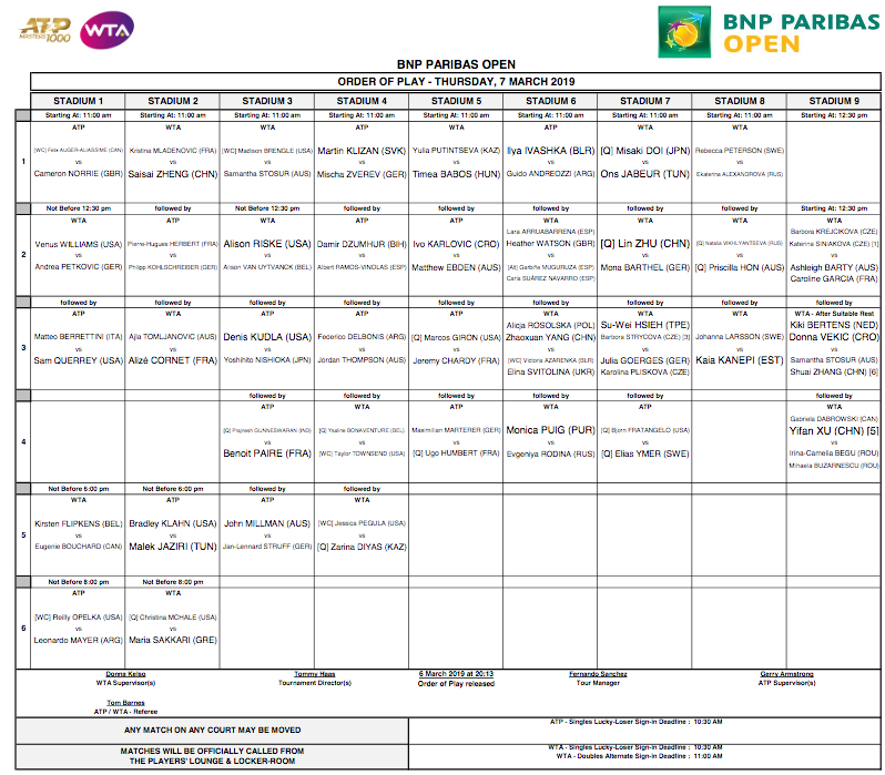 WTA INDIAN WELLS 2019 - Page 4 Capt3469