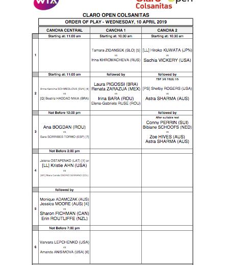 WTA BOGOTA 2019 - Page 2 Capt4104