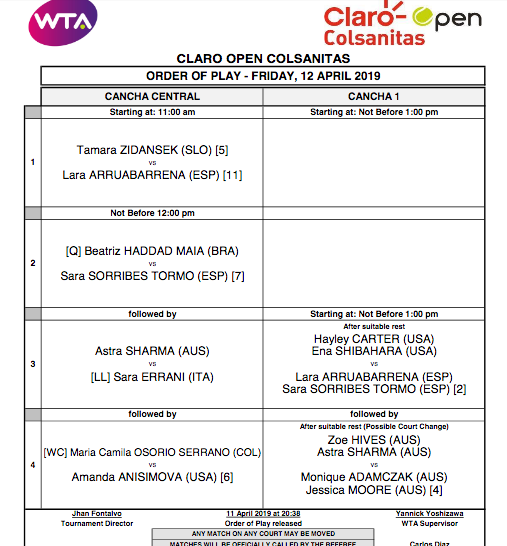 WTA BOGOTA 2019 - Page 3 Capt4139