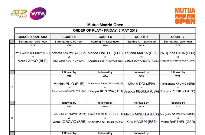 WTA MADRID 2019 Capt4363