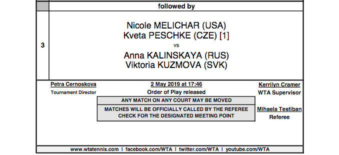 WTA PRAGUE 2019 - Page 2 Capt4366