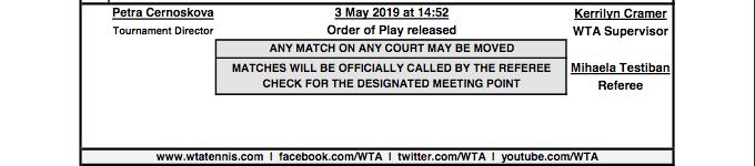WTA PRAGUE 2019 - Page 2 Capt4375