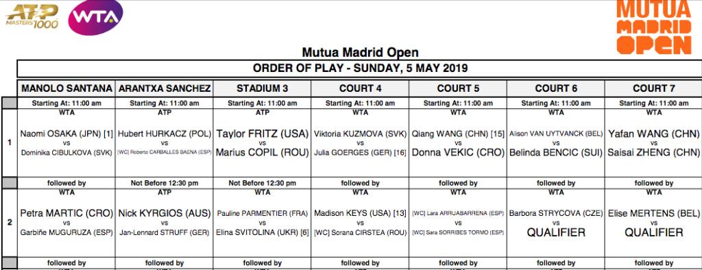 WTA MADRID 2019 - Page 2 Capt4418