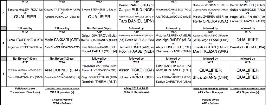 WTA MADRID 2019 - Page 2 Capt4419