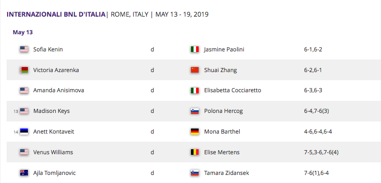 WTA ROME 2019 - Page 3 Capt4592