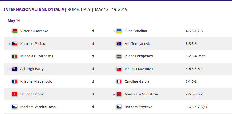 WTA ROME 2019 - Page 3 Capt4601