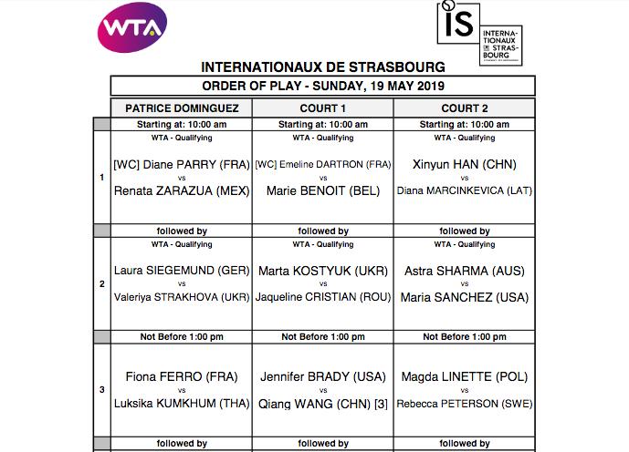 WTA STRASBOURG 2019 Capt4657