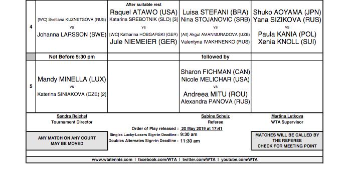 WTA NUREMBERG 2019 - Page 2 Capt4709
