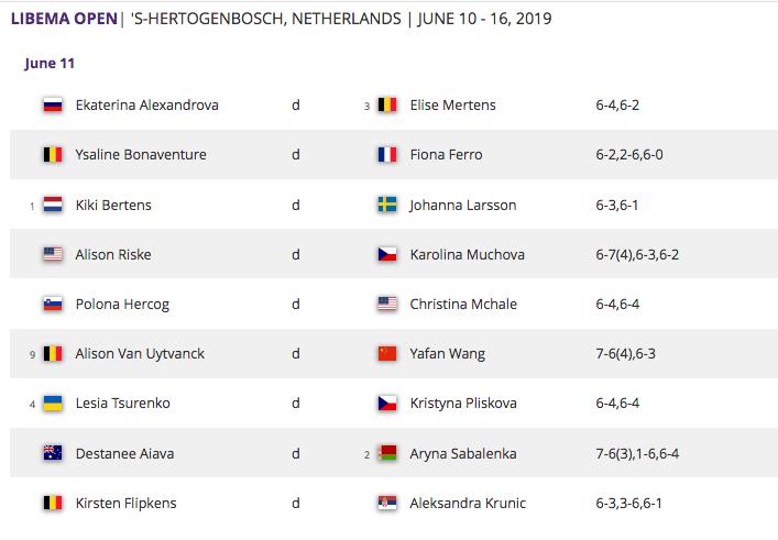 WTA 'S-HERTOGENBOSCH 2019 - Page 2 Capt5197