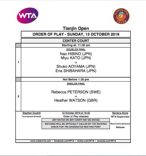 WTA TIANJIN 2019 - Page 3 Capt6843