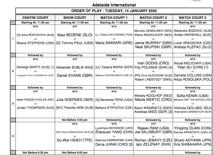 ATP ADELAIDE 2020 - Page 2 Capt7543