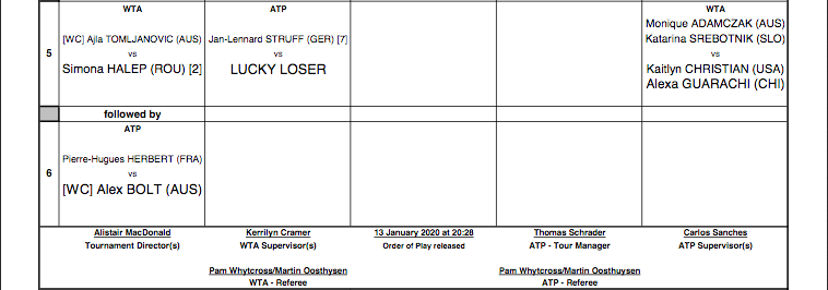 ATP ADELAIDE 2020 - Page 2 Capt7545
