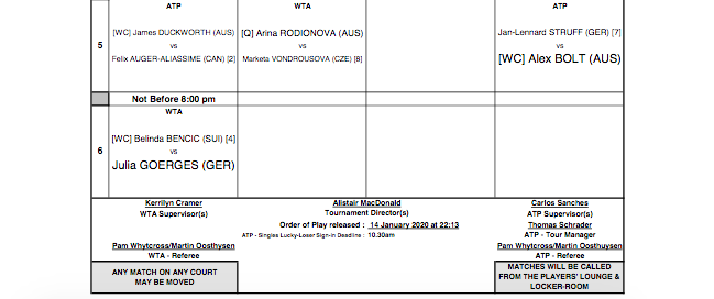 ATP ADELAIDE 2020 - Page 2 Capt7555