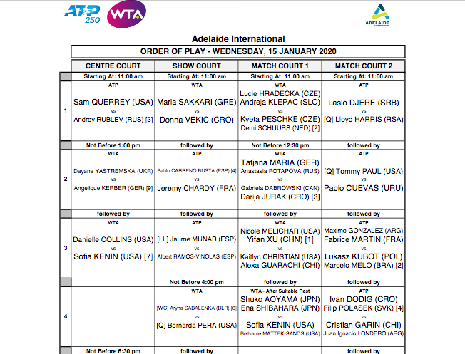 ATP ADELAIDE 2020 - Page 2 Capt7556