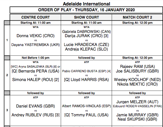 ATP ADELAIDE 2020 - Page 2 Capt7573