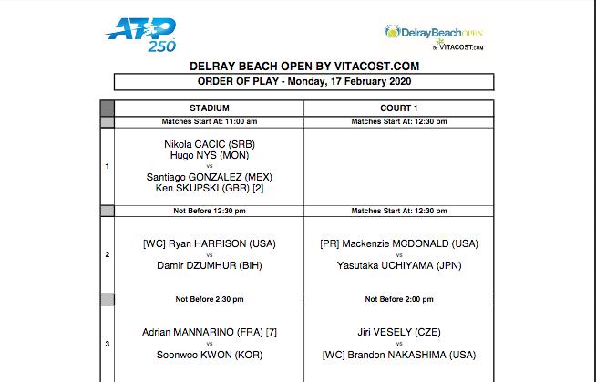 ATP DELRAY BEACH 2020 Capt8112