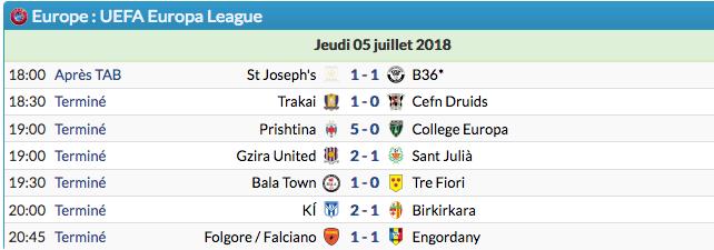 Ligue Europa 2018  - 2019 -2020 Captu606