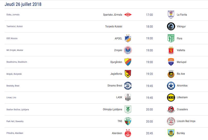 Ligue Europa 2018  - 2019 -2020 Captu653
