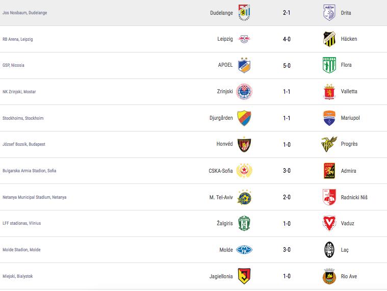 Ligue Europa 2018  - 2019 -2020 Captu713