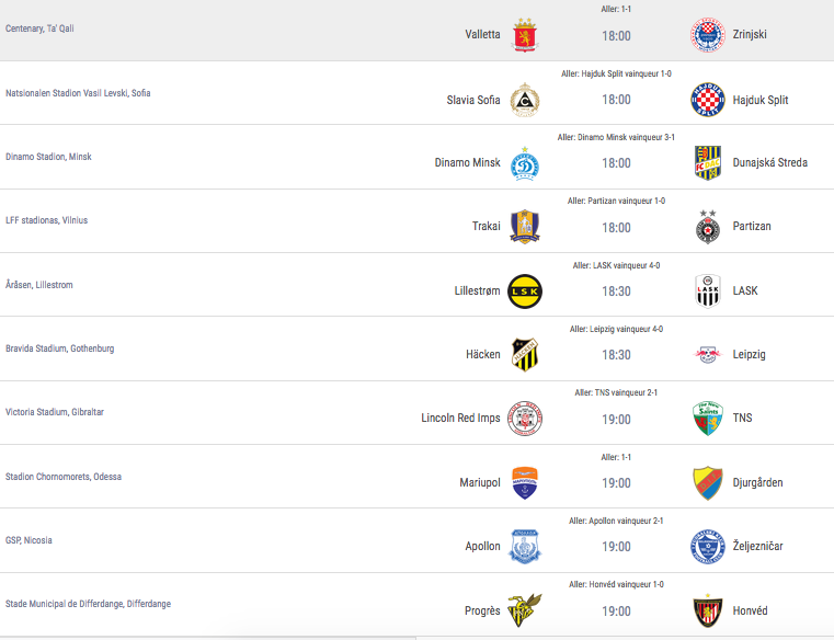 Ligue Europa 2018  - 2019 -2020 Captu719