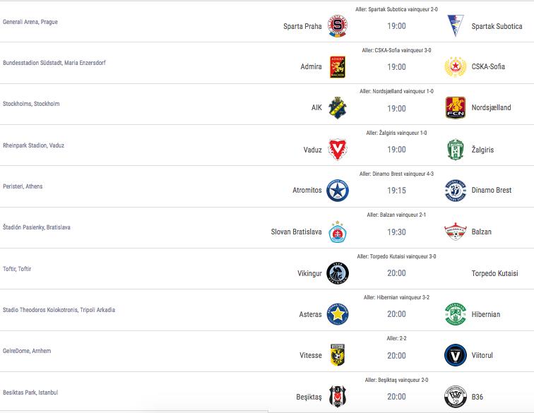 Ligue Europa 2018  - 2019 -2020 Captu720