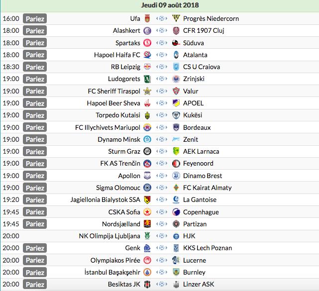 Ligue Europa 2018  - 2019 -2020 Captu830