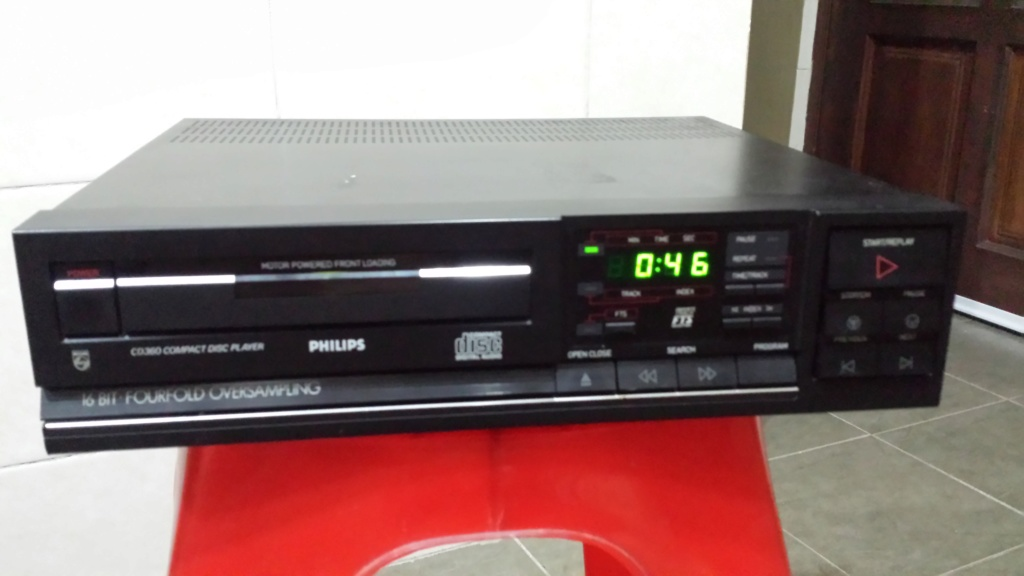 Philips cd360 cd player (Sold) 20180910