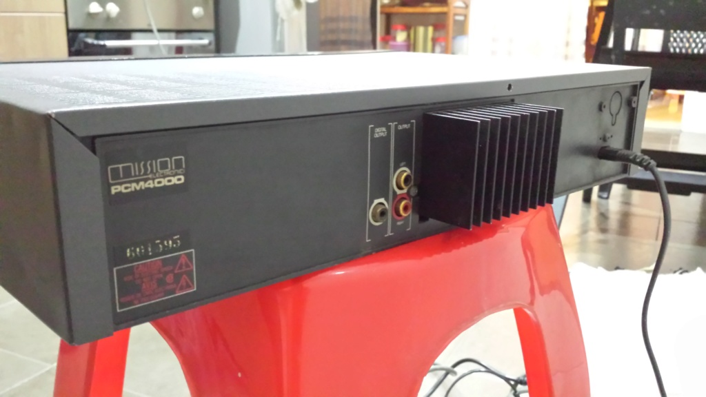 Mission PCM4000 cd player  (Used) 20180912