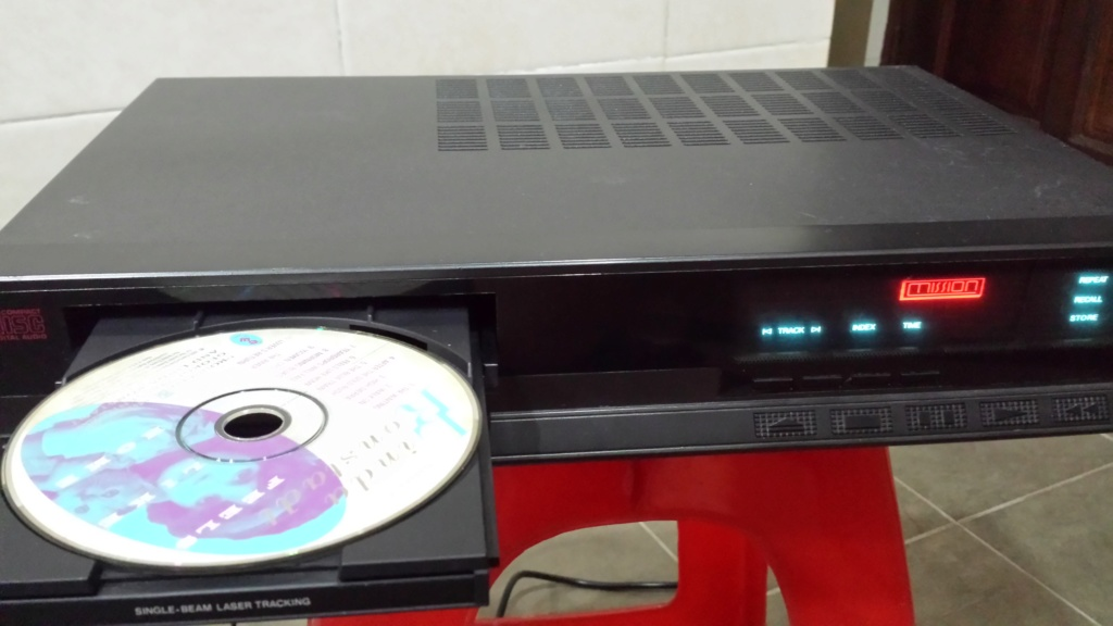 Mission PCM4000 cd player  (Used) 20180914