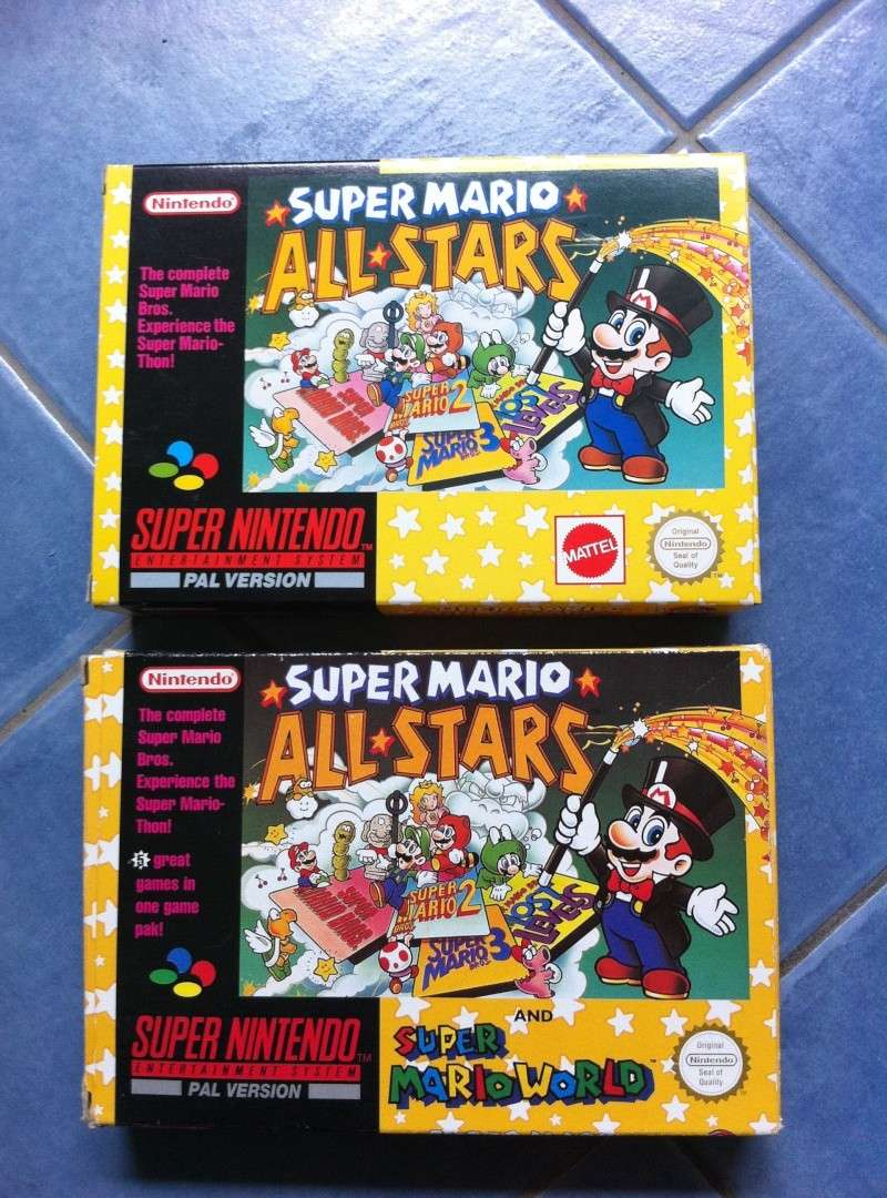 Super Mario all-stars + super Mario World Mario-10