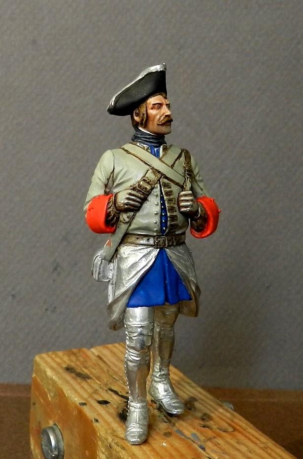 Régiment  de la Reine,Nouvelle France 1756, 00210