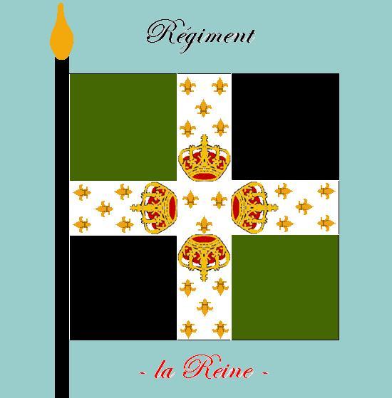Régiment  de la Reine,Nouvelle France 1756, 2110