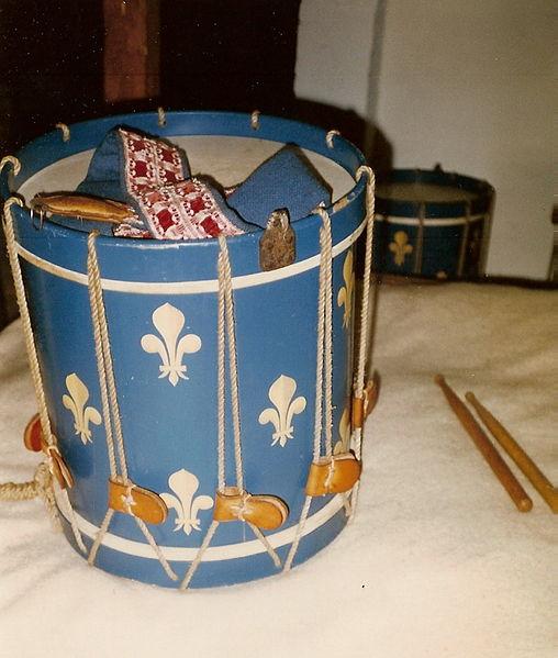 Régiment  de la Reine,Nouvelle France 1756, 2210