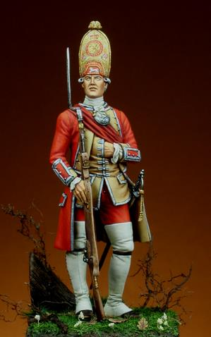 officier 3rd Foot, 1751 A4111