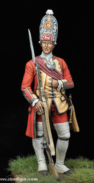 officier 3rd Foot, 1751 A810