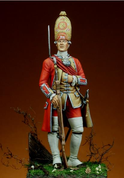 officier 3rd Foot, 1751 A910