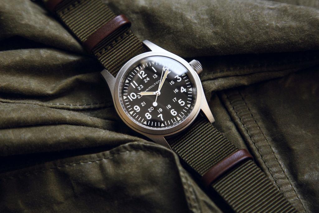 [Nouveauté] Hamilton réédite à nouveau une montre militaire Hamilt10