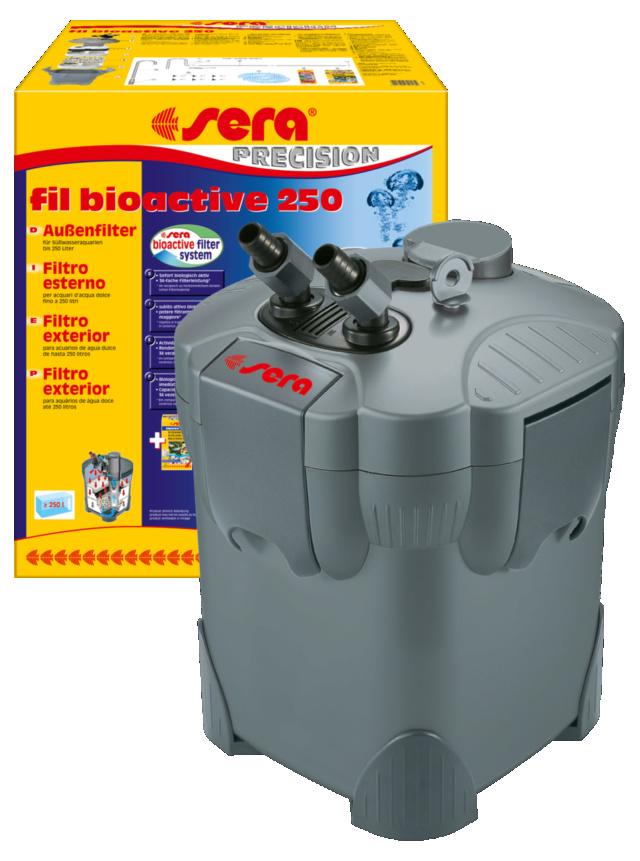 pompe externe Sera fil bioactive 250 - eau trouble Fil-bi10