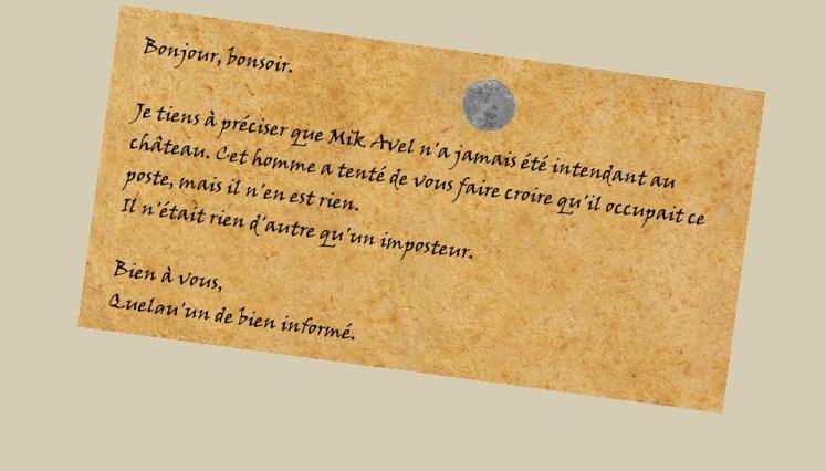 [CR d'animation] Coupure de journal : mort de Mik Avel et réhabilitation du Clan. Cr11