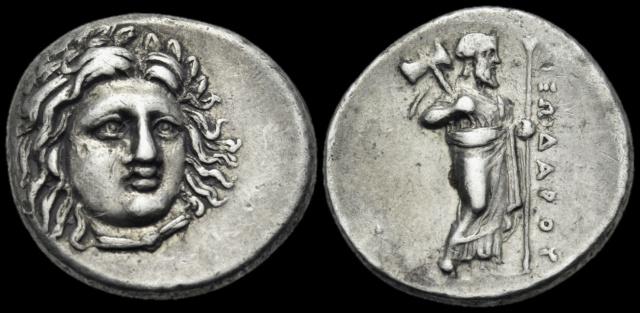 Monnaies grecques Pixoda10