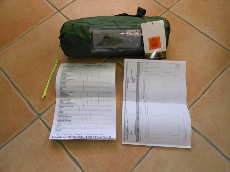 Recensione della tenda monoposto dell Gelert modello Solo Dscn0312