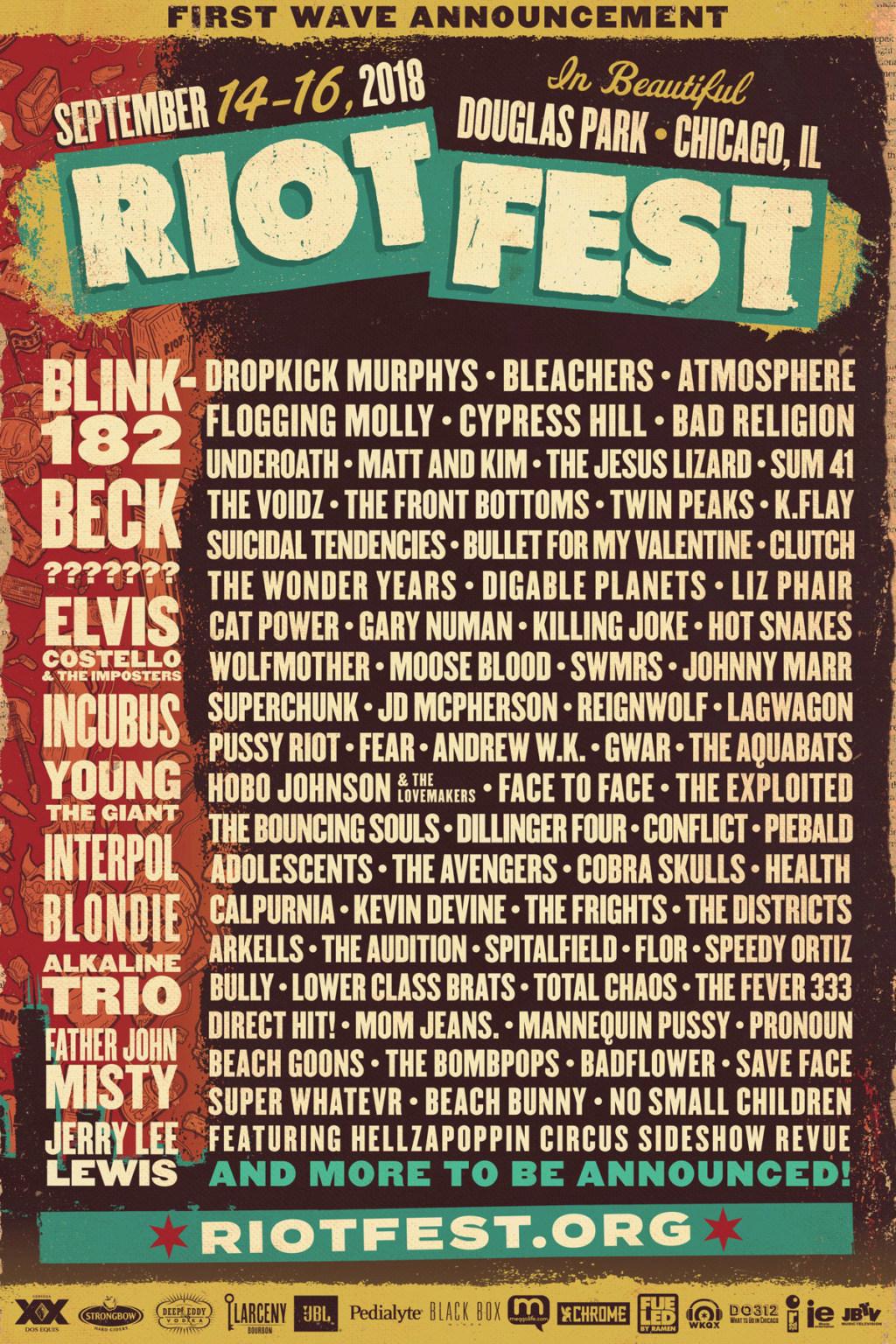 """9/15/18 - Chicago, IL, Douglas Park, """"Riot Fest"""" 118"""