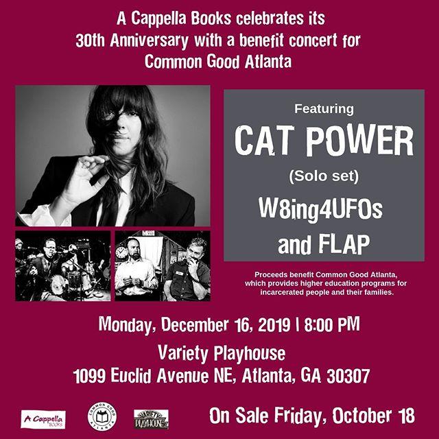 "12/16/19 - Atlanta, GA, Variety Playhouse, ""A Cappella Books 30th Anniversary Benefit"" 1209"