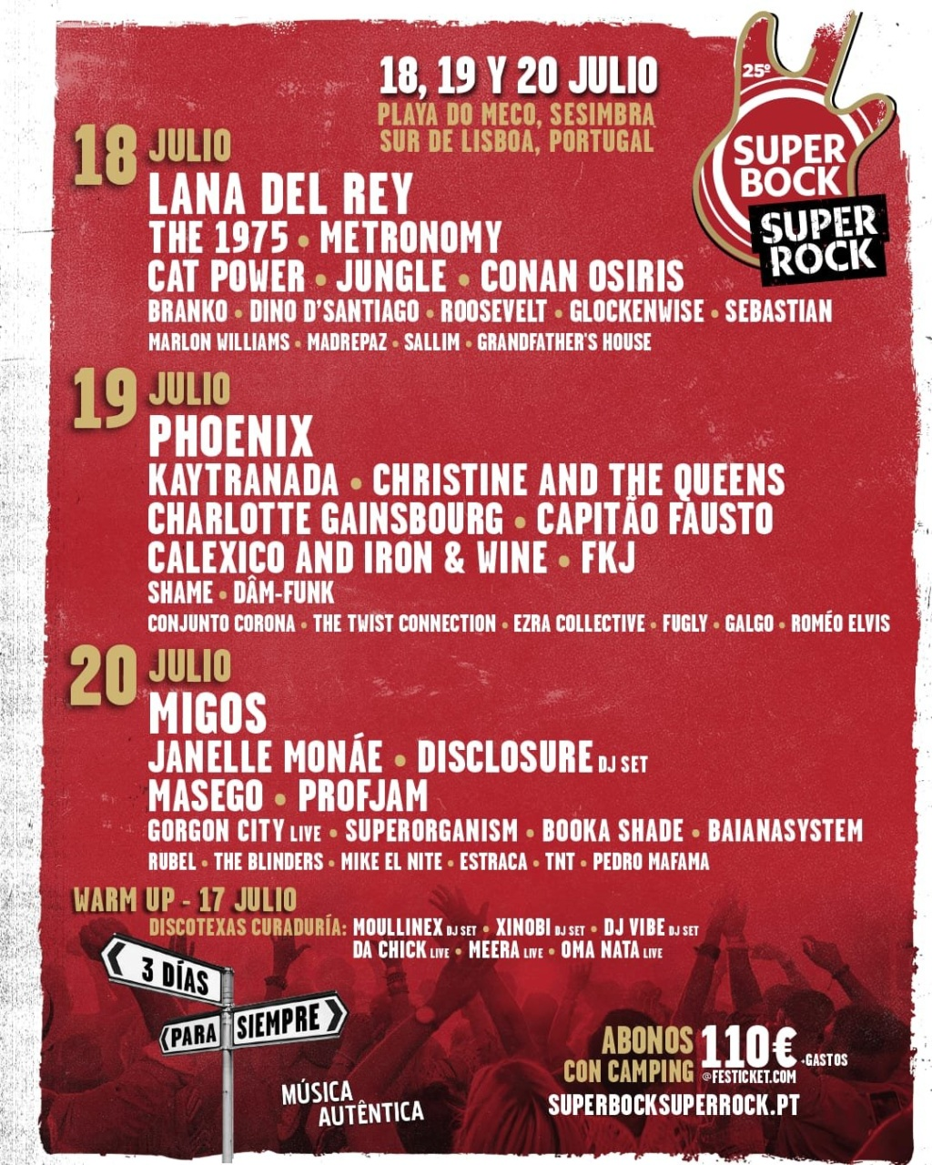 "7/18/19 - Sesimbra, Portugal, Praia do Meco, ""Super Bock Super Rock Festival"" 1366"