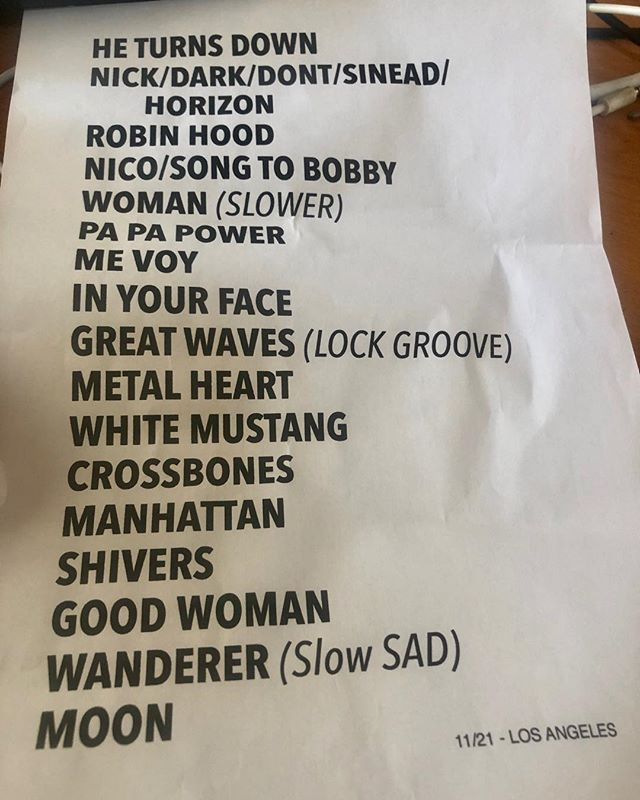 11/21/18 - Los Angeles, CA, The Theatre at Ace Hotel 2030